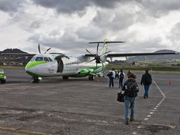 Arrival at Valverde airport on El Hierro