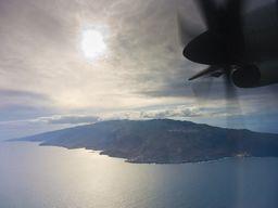 Anflug auf El Hierro, der westlichsten Insel der Kanarischen Inseln (c) Tobias Schorr