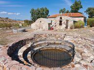 Das Heilbad Polichnitos auf der Insel Lesbos
