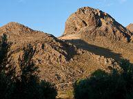 Reste von uralten Vulkanen bei Mesotopo auf der Insel Lesbos