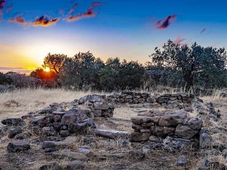 Mykenischer Tempel aus der Zeit Theseus!