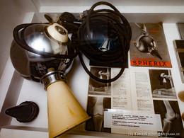 Das Röntgengerät, das der Arzt Löber verwendete.