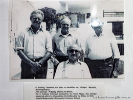 Widerstandskämpfer, die an der Befreiung der Insel von den Nazis mitwirkten.