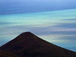 Historisches Foto der unterseeischen Eruption bei La Restinga in 2012. Die letzte vulkanische Tätigkeit der Kanarischen Inseln in den letzten Jahren. (c) Tobias Schorr