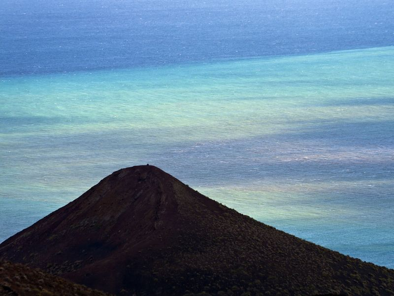 The former submarie eruption at the coast of El Hierro