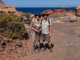 Thomas und Angelika am Bergwerk Vani (c) Tobias Schorr
