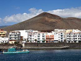 The fishing harbour of La Restinga