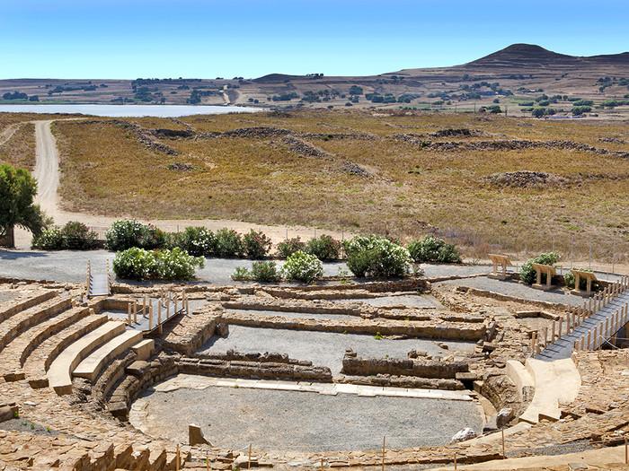 Das antike Theater Von Ifaisteia. ©Ioanna - stock.adobe.com