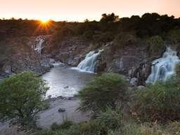 Der Wasserfall von Awash - ein tolles Fotomotiv! (Auf die Krokodile aufpassen!)