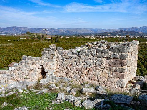 Festungsmauer der Akropolis Tyrins (c) Tobias Schorr
