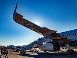 Ankunft in Athen mit Aegean Airlines. (c) Tobias Schorr