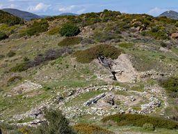 Das große, mykenische Grab von Thorikos. (c) Tobias Schorr