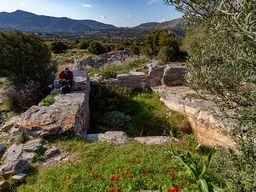 Antike Zisterne in Thorikos. Hier wurde Wasser gespeichert, das für die Erzwäsche benötigt wurde. (c) Tobias Schorr