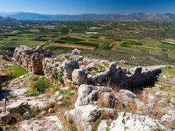 Die Westmauer und die argolische Ebene bei Nauplion. (c) Tobias Schorr