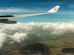 Flug über Äthiopien