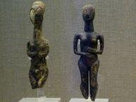 Kykladen-Idole ca. 2500 v.Chr.