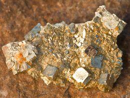 Pyritkristalle von Paliochori. (c) Tobias Schorr
