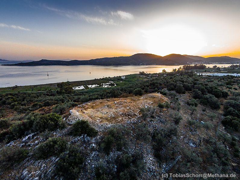 Kennt kaum einer: Die mykenische Akropolis bei Galata. (c) Tobias Schorr