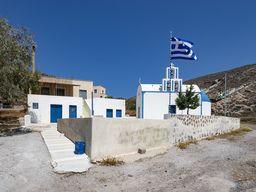 Die Kapelle Agia Markela bei Akrotiri liegt auf unserer Route. (c) Tobias Schorr