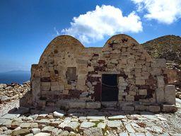 Die Kapelle Agios Stefanos in Alt Thera. (c) Tobias Schorr