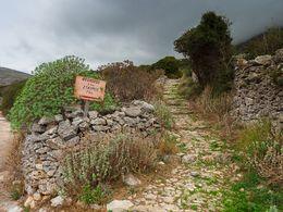 Hier geht es in die Berge von Amorgos.