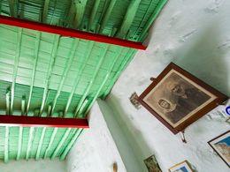 Uralte Fotos im Dorfcafé