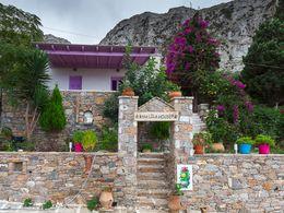 Das lila Ferienhaus in Langada