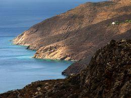 Blick auf die Küste bei Cholakas