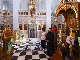 In der Kirche Agii Anargyrii in Tholaria