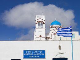 Die Kirche Agii Anargyrii in Tholaria