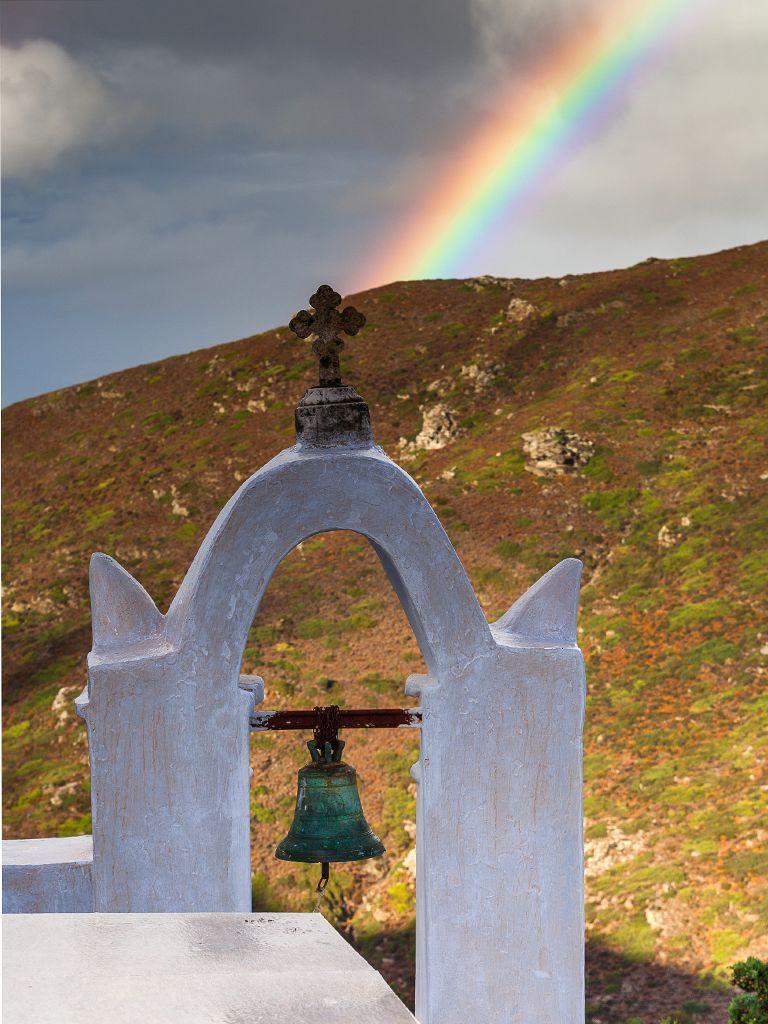 Schon im Oktober kommt der erste Regen und es kann auch mal kalt sein. Aber so ein Regenbogen belohnt jede Mühe!
