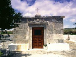 The ancient temple of Agios Joannis Marmaritis