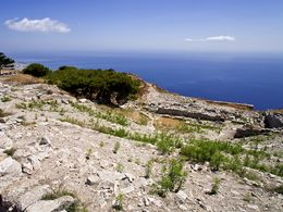 The theatre of ancient Thera