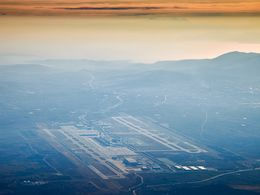 Arriving at the Athens Venizelos airport