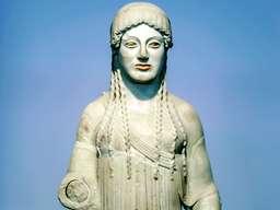Antike Statue im Museum. (c) Tobias Schorr