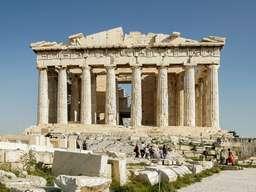Der Parthenon der Akropolis von Athen. (c) Tobias Schorr
