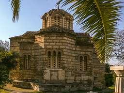 Agioi Apostoloi auf der antiken Agorá in Athen. (c) Tobias Schorr