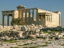 Das Erechteion der Akropolis von Athen. (c) Tobias Schorr