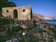 Die Ruinen des Heilbads Avlaki