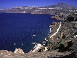 Blick auf den Balos-Strand unterhalb von Akrotiri (c) Tobias Schorr