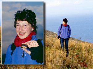 Katharina fand bei einer Wanderung in 2007 diese antike Scherbe (darf man natürlich nicht mitnehmen!)
