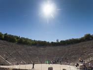Großes Theater von Epidaurus (c) Tobias Schorr