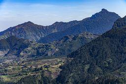 Die eindrucksvolle Landschaft bei Debre Sina. (c) Tobias Schorr