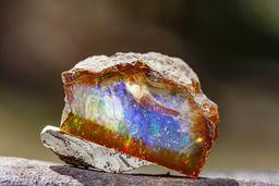 Ein herrlicher Glas-Opal. (c) Tobias Schorr
