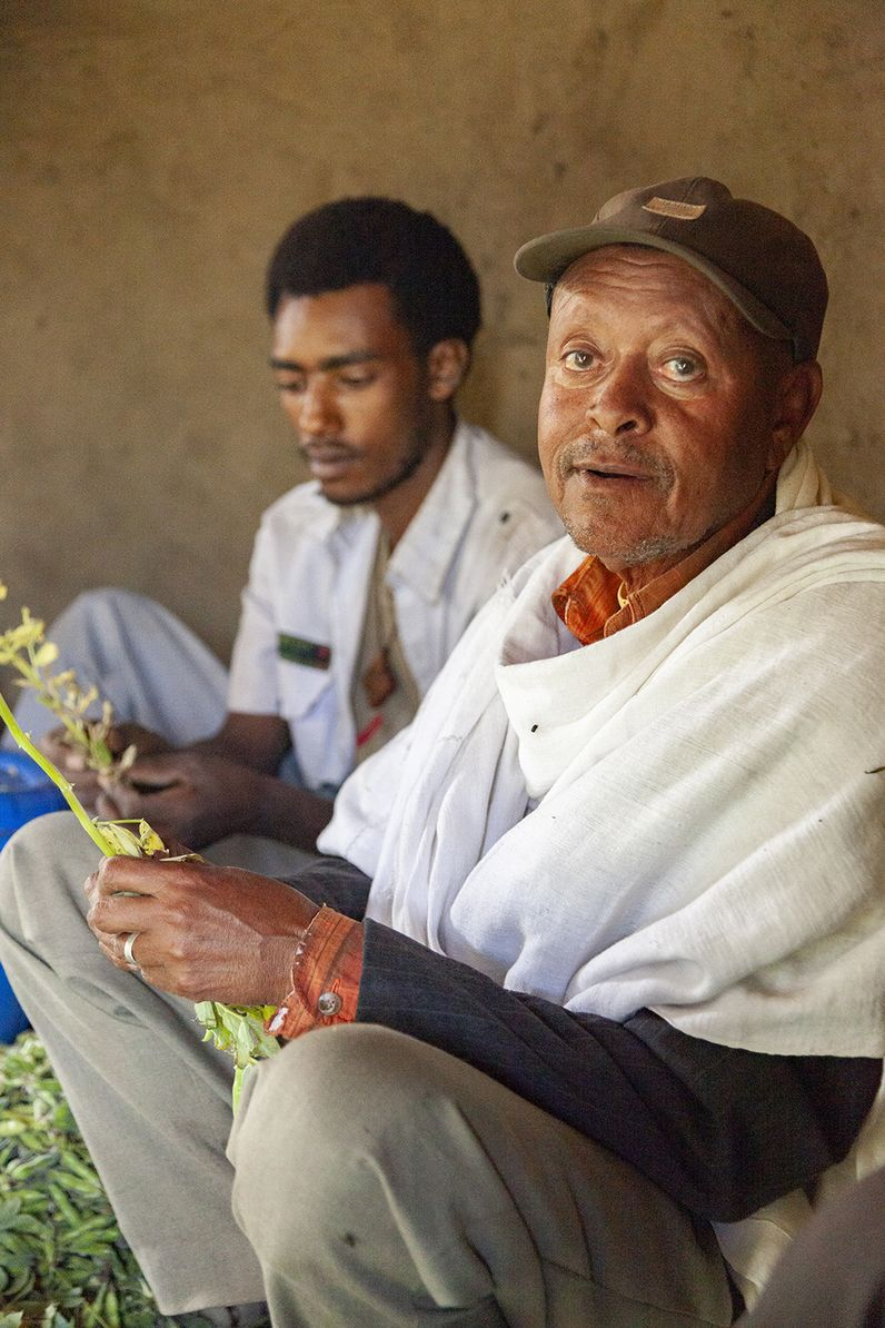 Dieser nette Herr begleitete mich bei meinem mühsamen Aufstieg zurück aufs Hochplateau. Ich werde nie vergessen, wie ich in Atemnot geriet. Ich unterschätzte die Höhenunterschiede in Äthiopien. (c) Tobias Schorr