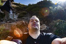 Ich war bei dem Aufstieg an den Grenzen meiner Möglichkeiten angekommen. Die Luft war zu dünn für mich und ich bekam Atemnot... Ist alles auf über 3000 m Seehöhe! (c) Tobias Schorr