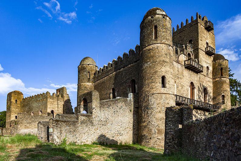 Die Burg von Gonder. (c) Tobias Schorr