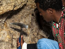 Even a geological hammer can help a lot!
