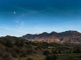 Die Landschaft um Lalibela