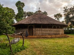Kloster auf einer Insel im Tana-See